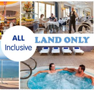 2 People; 1 Room-Mazatlan Land ONLY: All-Inclusive