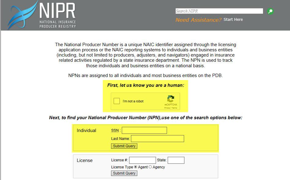 national-producer-number-find
